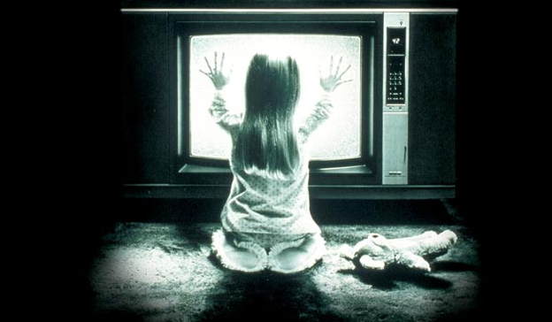 Scary TV Image