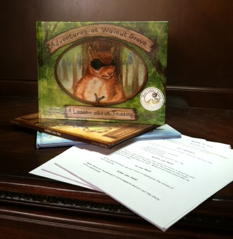 Adventures At Walnut Grove A Lesson About Teasing Children 39 S Book Review Sweepstakes