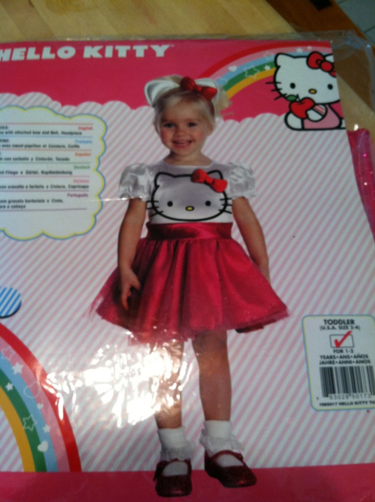 hello kitty costume from wholesalecostumeclubcom review sweepstakes - Halloween Hello Kitty Costume