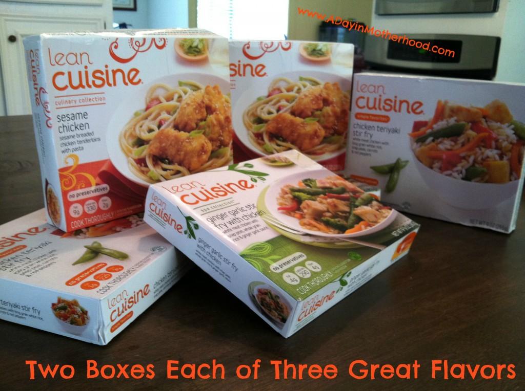 Lean cuisine asian flavors make an easy healthier dinner for Are lean cuisine dinners healthy