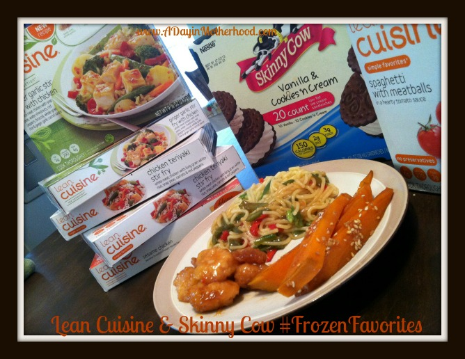 Lean Cuisine and Skinny Cow #FrozenFavorites