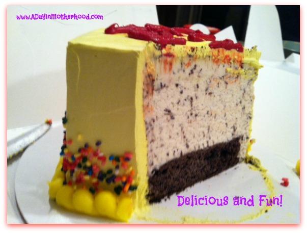 Baskin Robbins Valentine's Cake