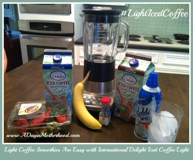 Lighten up your day with International Delight Light Iced Coffee #LightIcedCoffee