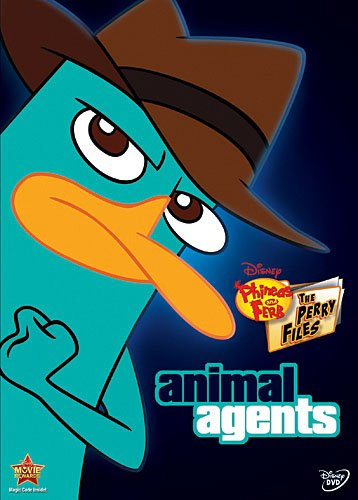 Phineas & Ferb: The Perry Files Animal Agents DVD Review & 2 Winner Giveaway