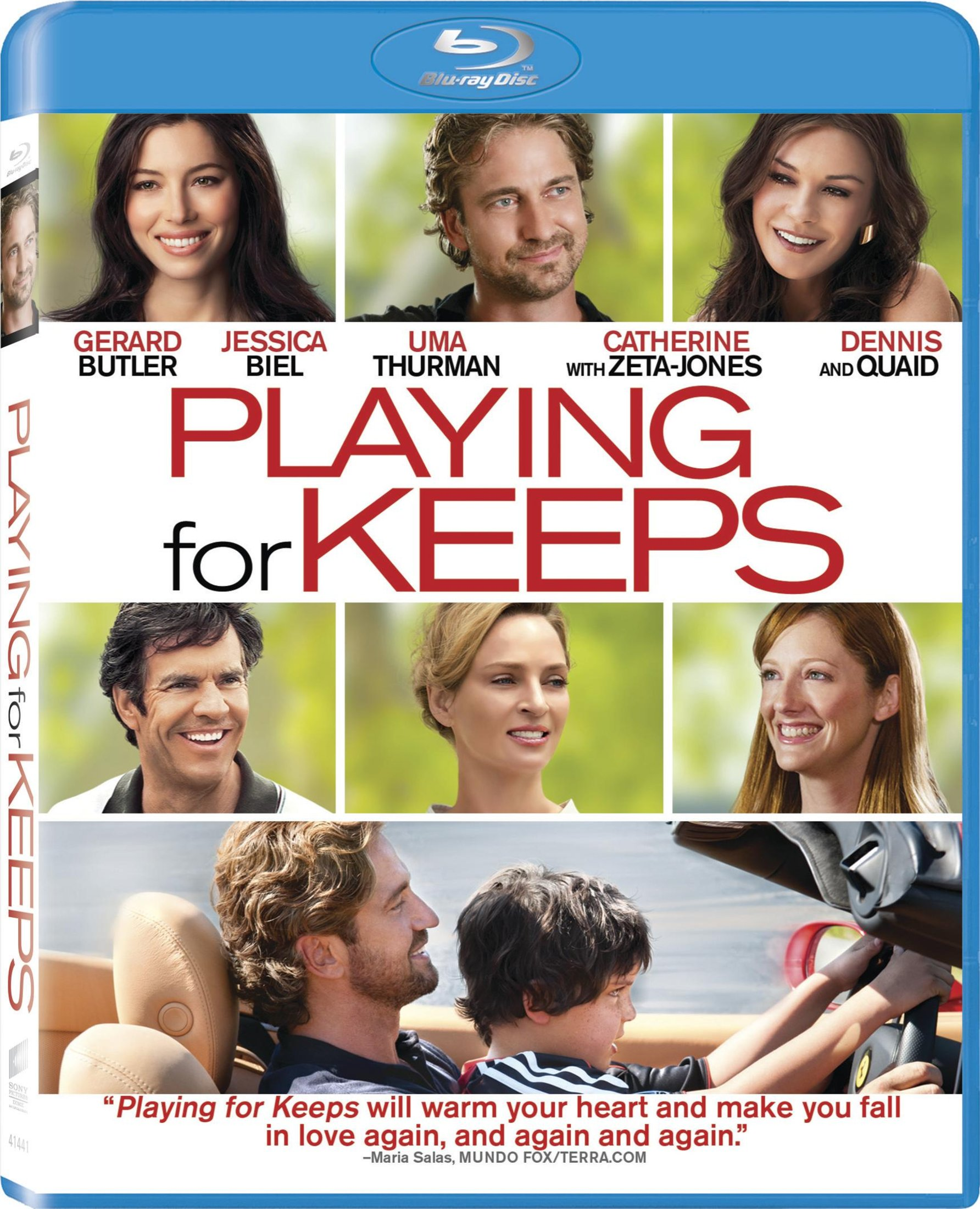 Enter to WIN the Awesome Movie, Playing for Keeps on DVD