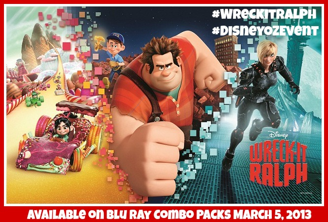 Wreck-It Ralph is OUT on Blu Ray DVD Review & Giveaway