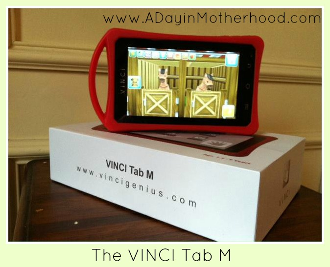 The Vinci Tab M Learning Tablet Is As Versatile as My Kids