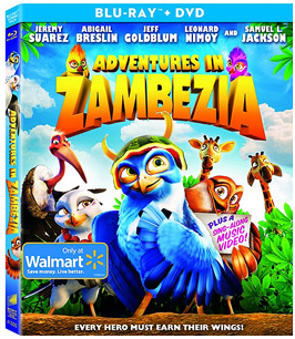 Adventures in Zambezia on Blu-Ray Combo Pack Will Entertain and THRILL Your Family + Giveaway & Activity Book Download - A Day in Motherhood