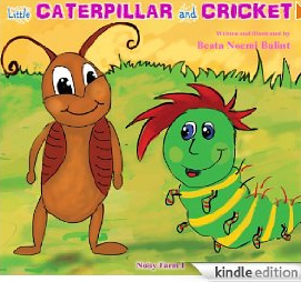 FREE eBook for Children: Little Caterpillar And Cricket