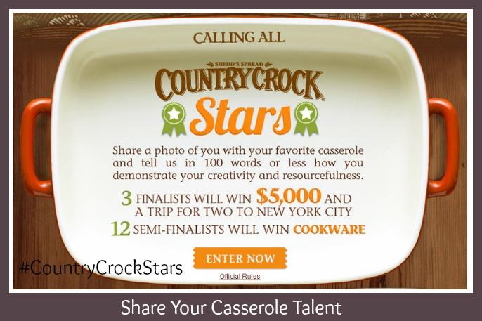 Country Crock Stars contest