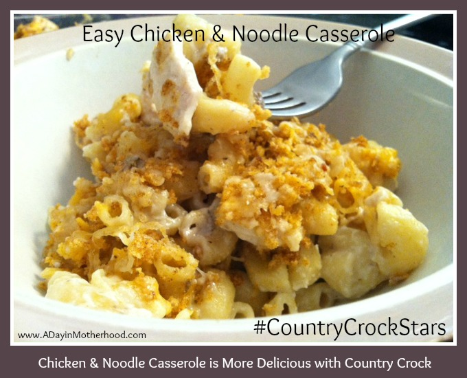 Easy Chicken &amp; Noodle Casserole