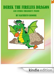 FREE Children's eBook of Poems: DEREK THE FIRELESS DRAGON