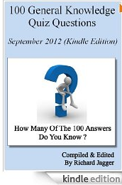 Free Kindle Book: 100 General Knowledge Quiz Questions