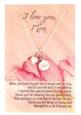 Need a Mother's Day Gift from the Kiddos that Won't Break the Bank? Necklace & Charm $13.65 Shipped!
