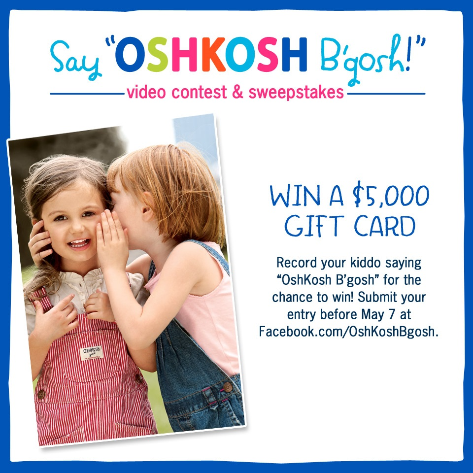 OshKosh B'gosh Sweepstakes
