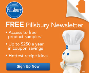 **Pillsbury Coupons &amp; FREEBIES** $250 Savings per Year: Sign up NOW