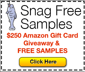 My latest FREEBIE *Ruffies* from Snag Free Samples