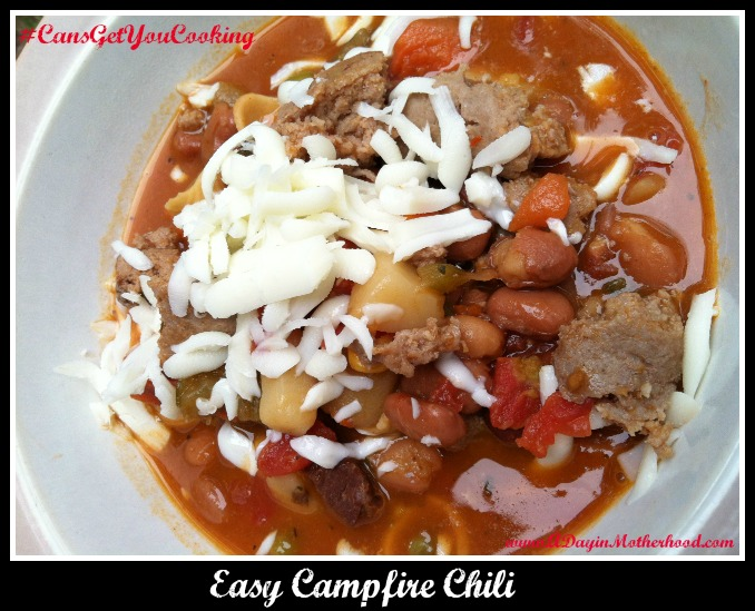 Campfire Chili Recipe #CansGetYouCooking