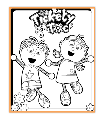 All things tickety toc i am an ambassador & vip tick tocketeer PAW Patrol Coloring Tickety Tock Coloring Pages Tickety Toc DVD