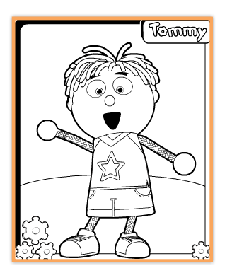 tickety toc coloring pages - all things tickety toc i am an ambassador vip tick