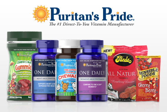 Highlights for Puritan's Pride. Pursuing your health goals is a lifelong project. Give your vegetables and proteins a helping hand with vitamins and supplements that pack a punch to stay on track.