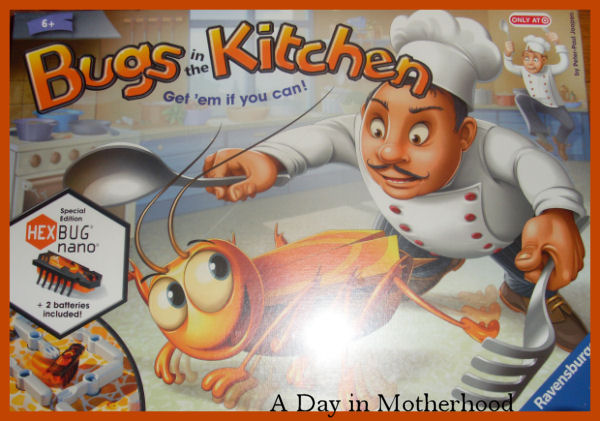 Bugs in the Kitchen Board Game Review