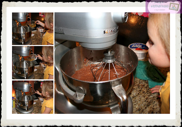 Best Ever Chocolate Fudge Layer Cake with the Key Ingredient