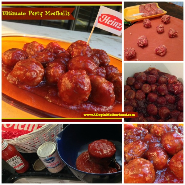 Easy Ultimate Party Meatballs Recipe