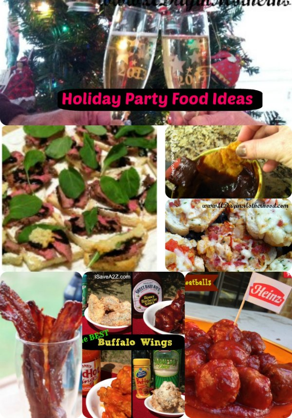 Easy holiday party food recipes