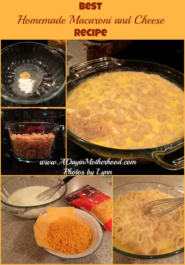 best homemade macaroni and cheese