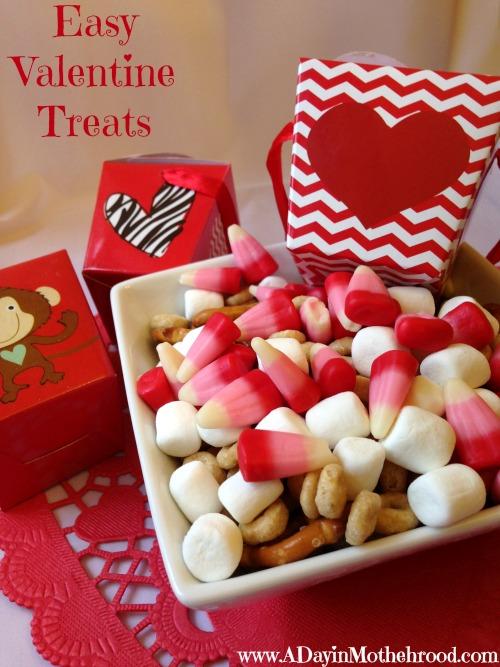 easy valentine treats - Easy Valentines Treats