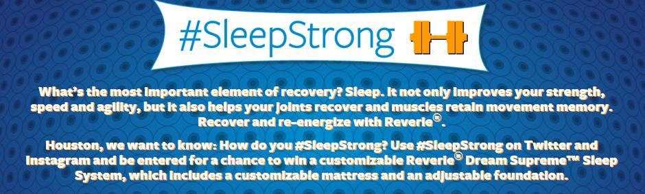 Win a Reverie Mattress #SleepStrong
