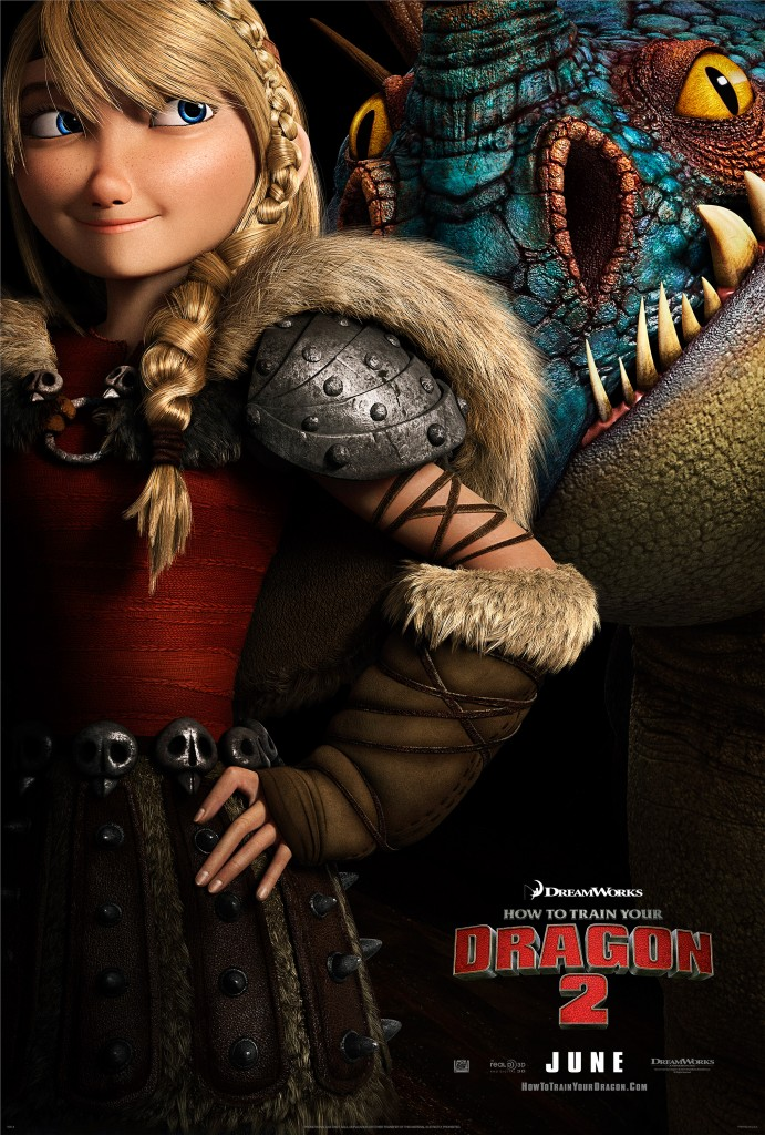 HTTYD2 Movie Poster