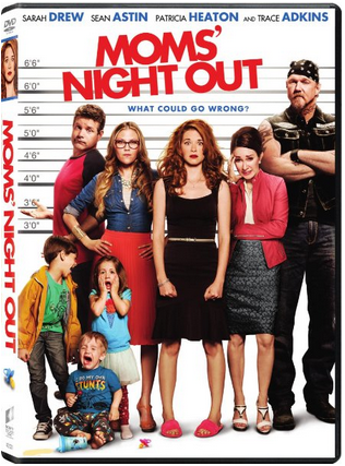 Moms' Night Out on DVD #MomsNightOut
