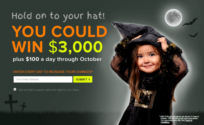 Halloween Ideas for Kids & Enter to WIN the Halloween Creepstakes from Coupons.com #CREEPSTAKES