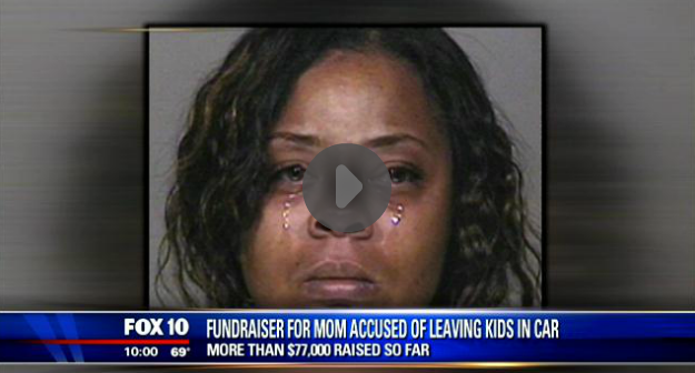 Woman Claims She Can't Afford to Put $40,000 of $100,000 in Donations Away for Her Kids