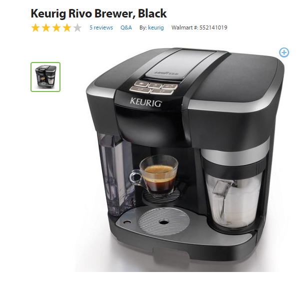 Keurig Single Cup Coffee Maker Black Friday : Upgrade Your Coffee with a Keurig from Walmart