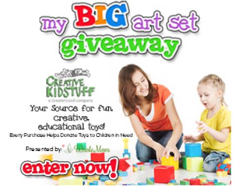 Enter to WIN a HUGE Creative Kidstuff Art Pack
