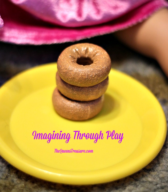 """Salvation Army Doughnut Set ($39.99) for 18"""" Dolls Review & Giveaway"""