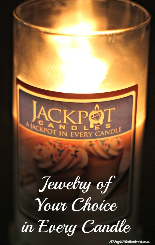 A Candle AND Your Choice of Jewelry! Jackpot Candle Review & Giveaway
