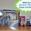 HUGE Easter Movie Prize Pack with 2 Winners! One Includes a Portable DVD Player!