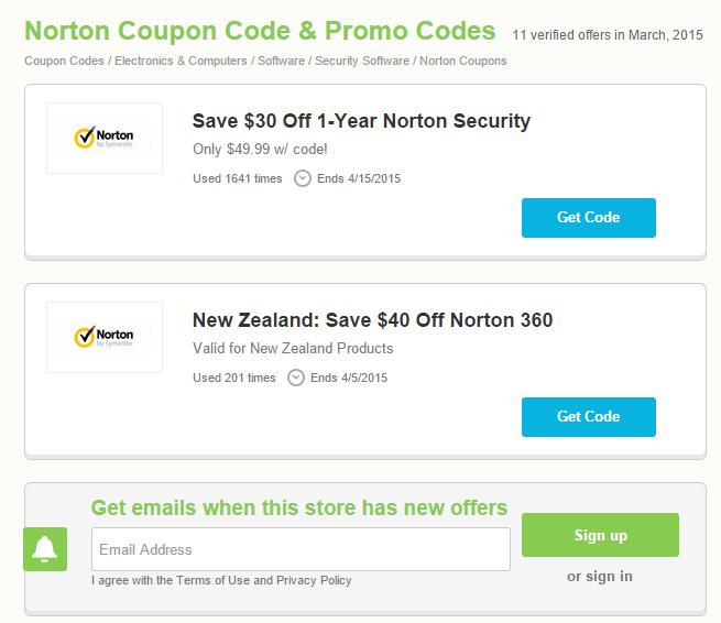 Norton 360 coupon code nz