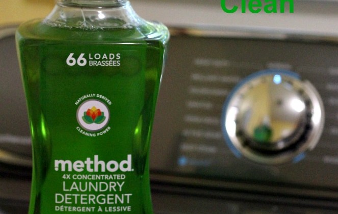 NEW method 4x Concentrated Laundry Detergent Brightens and Cleans my Dirtiest Chore #stylebymethod #clevermethod
