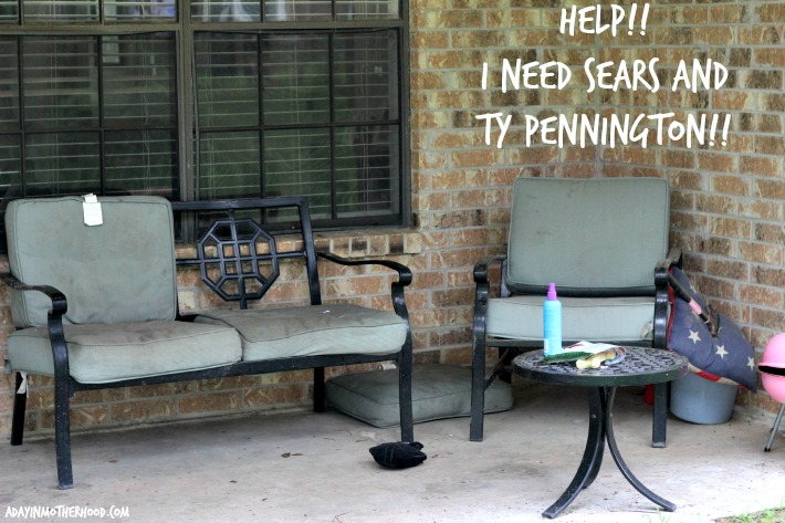 Superb Update Your Outdoor Living Spaces with Ty Pennington Enter to WIN the Sears Patio Sweeps