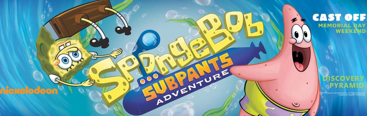We Are Headed To The Spongebob Subpants Adventure At Moody