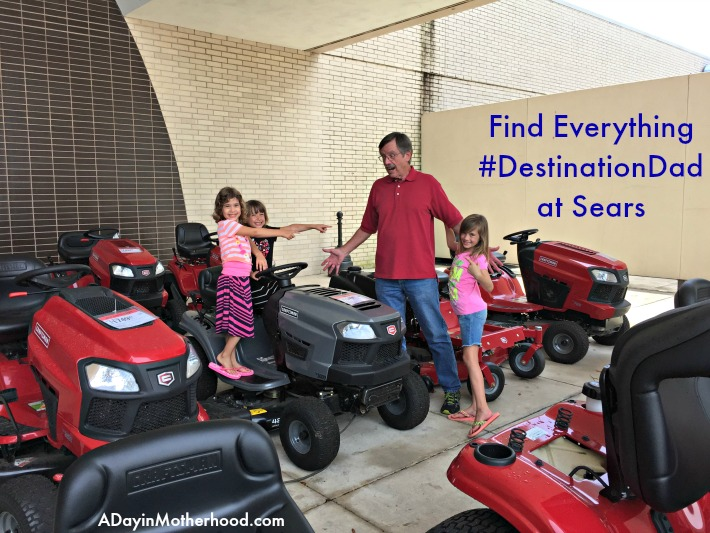 Sears is the Place for Father's Day! See me Spoil My Dad with a $1500 Master Gardener's Dream Shopping Spree! #DestinationDad #AD @Sears
