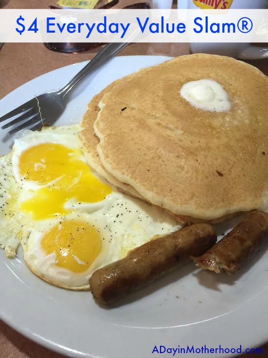 $2, $4, $6, $8 - We Shopped and Saved on What We Ate... at Denny's #DennysDiners AD #BacktoSchool