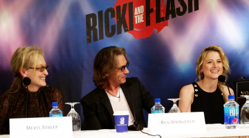 EXCLUSIVE: Interview With Meryl Streep, Rick Springfield, & Mamie Gummer, Stars of Ricki and the Flash In Theaters August 7