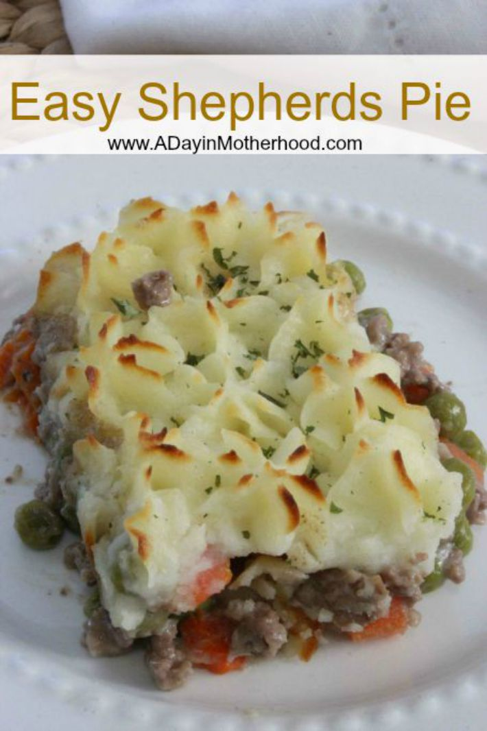 Easy Shepherds Pie Recipe