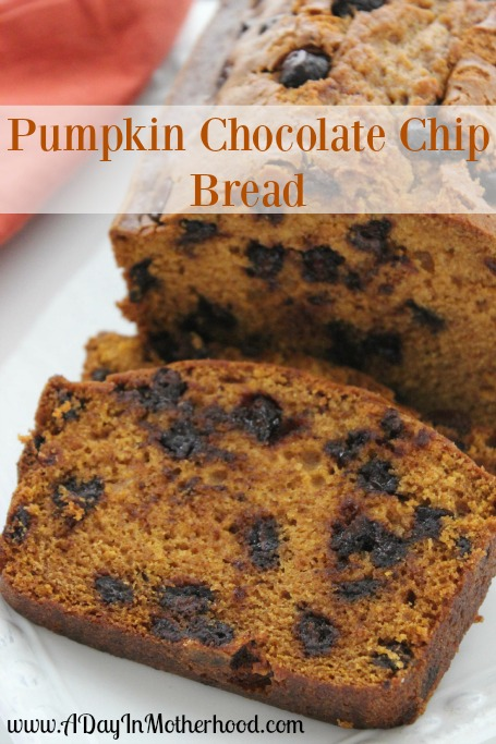 and the new year are sweet breads this pumpkin chocolate chip bread ...
